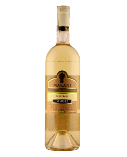 Marani Gemieri white, medium dry, 0.75l